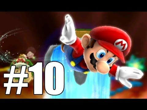 Super Mario Galaxy 2 - Hot-Stepping Dash Pepper (Hightail Falls Galaxy) - Part 10