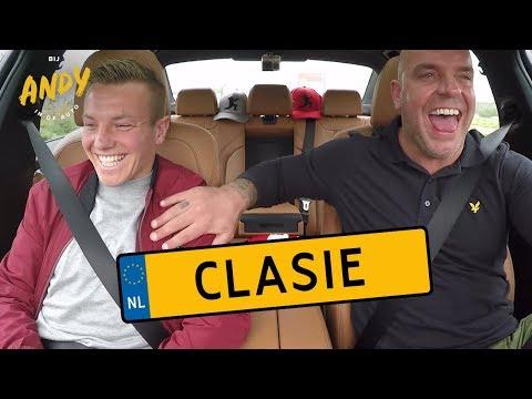 Jordy Clasie - Bij Andy in de auto