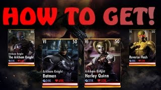 How to Get the New 2.6 Characters! Injustice Gods Among Us! IOS/Android
