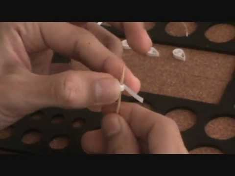 How-to make paper quilling jewellery earrigs for beginers and professionals..(PART 1)
