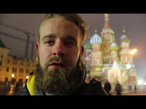 Visiting Red Square in Moscow and Watching Russian Street Fights
