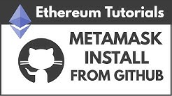 Install the MetaMask Chrome Extension WITHOUT Google Chrome Store
