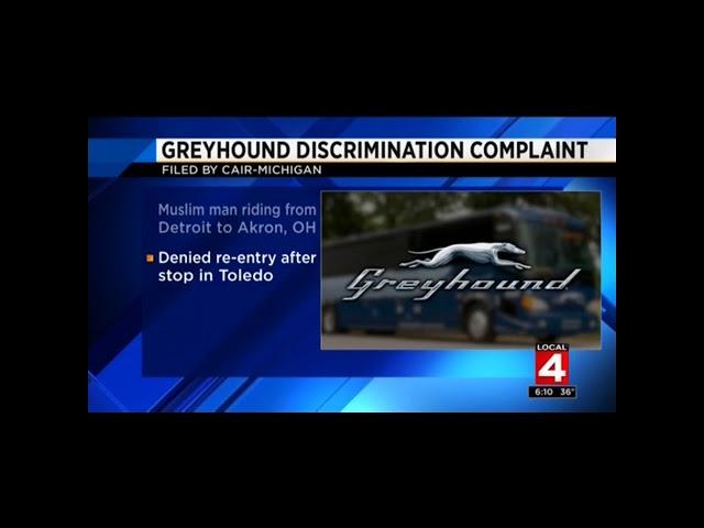 Video: CAIR-MI Files Complaint on Behalf of Muslim Kicked Off Greyhound Bus for Speaking Arabic