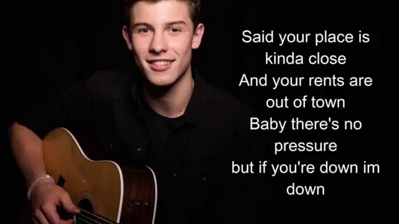 Shawn Mendes Song Lyrics Kid In Love