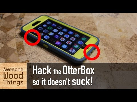 Hack the OtterBox so it doesn't suck!