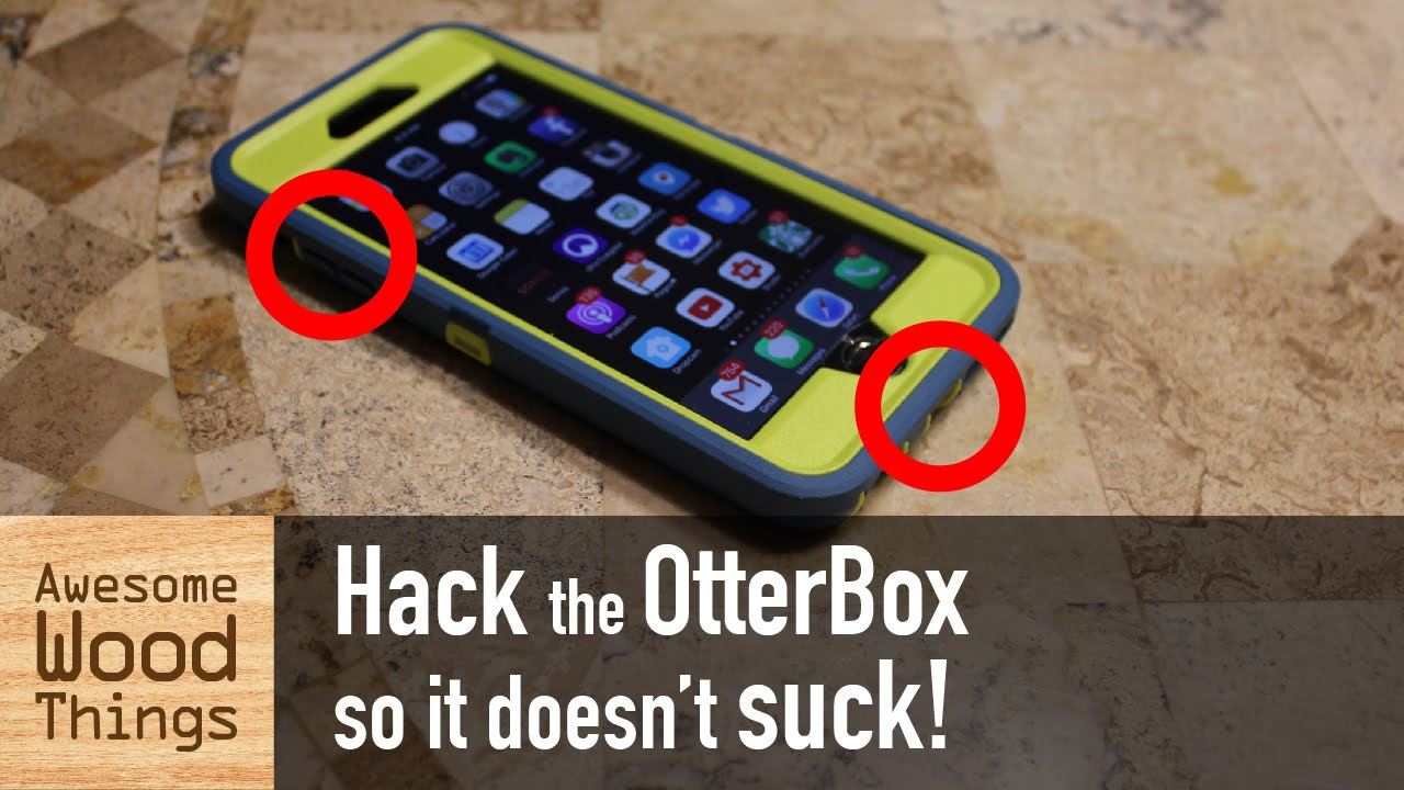 premium selection 0d36c 39690 Hack the OtterBox so it doesn't suck!