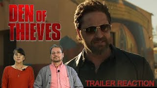Den of Thieves Trailer #1 (2018) - Reaction