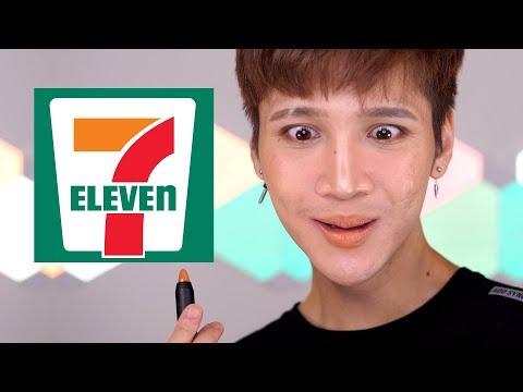 Trying 7-Eleven Makeup ㅋ - Edward Avila