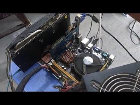 Flash ROM BIOS VGA AMD RX470 lỗi và cách giải quyết