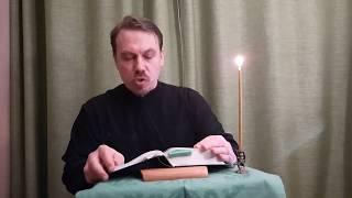 БЛАГАЯ ВЕСТЬ Евангелие от ИОАННА  глава 20 Отец Вадим Самохвалов