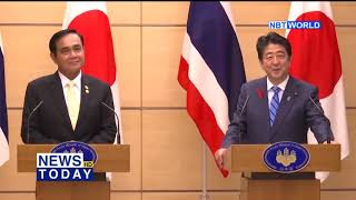 PM discusses cooperation with Japanese counterpart ahead of 10th Mekong Japan Summit