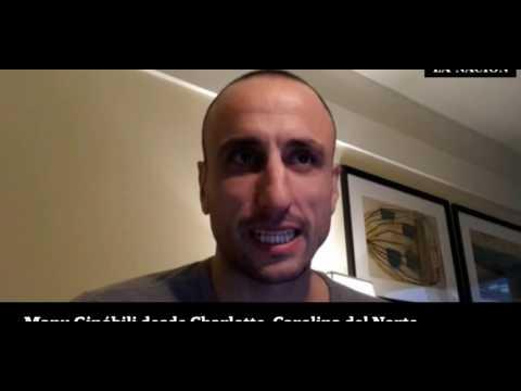 Manu Ginobili Q&A (Jeff Garcia News 4 San Antonio Spurs Writer)