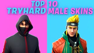 10 Most TRYHARD male skins in Fortnite