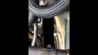 Polo 6R 1.6 TDI 90 , bruit frottement , claquement moteur