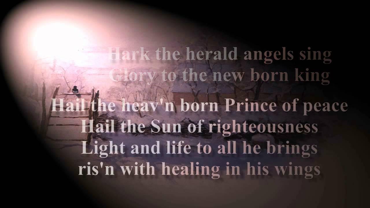 hark the herald angels sing karaoke