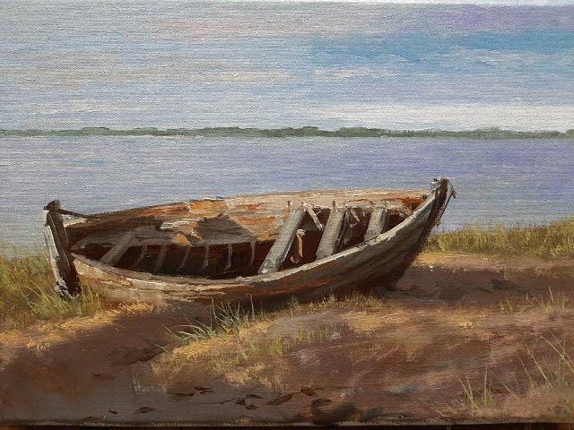 Лодка - A boat Vugar Mamedov