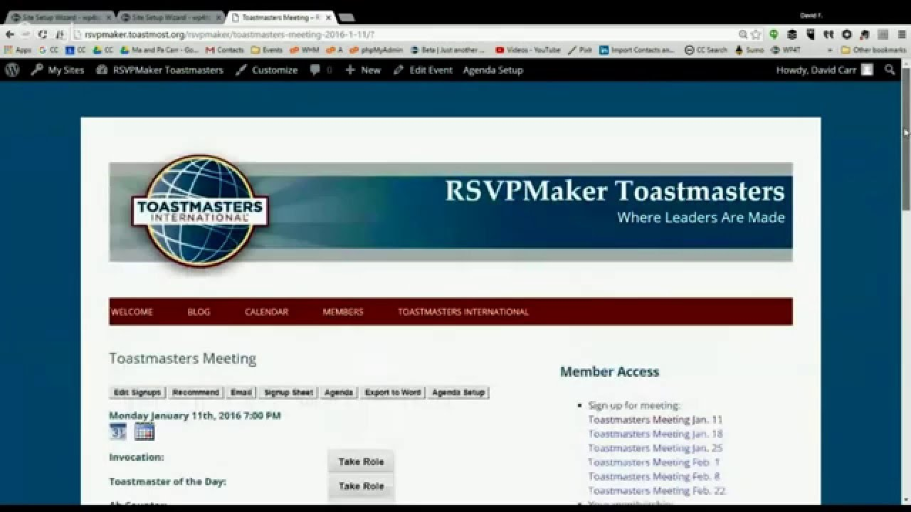 blog page 4 of 8 wordpress for toastmasters
