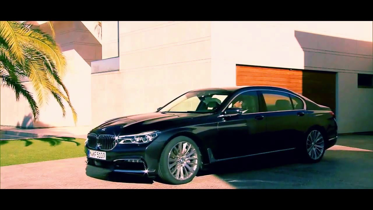 new 2017 bmw 750i interior exterior video bmw 7 series 2016 2017 youtube. Black Bedroom Furniture Sets. Home Design Ideas