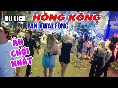 DU LỊCH HỒNG KONG   Khám phá phố đi bộ Lan Quế Phường ăn chơi nổi tiếng thế giới