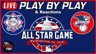2018 MLB All-Star Game  | Live Play-By-Play & Reactions