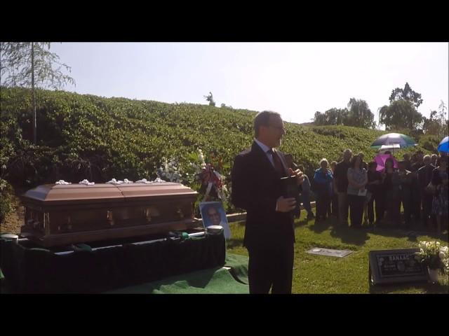 Benny Banaag Gravesite Service @ Montecito Memorial Park