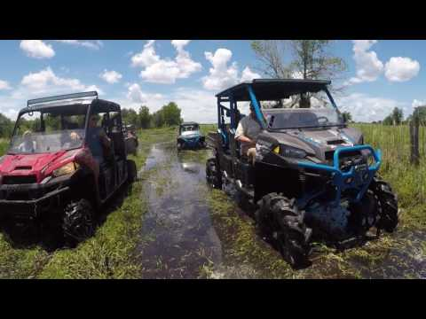 Mud, water, rzr and rangers kicking it hard at Riverranch going deep!