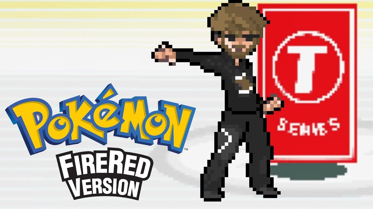 Pokemon Firered Hack - PewDiePie VS T-Series
