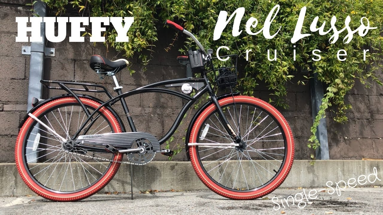 47e004f07d7 Huffy Nel Lusso Cruiser Single-Speed bicycle - $119 at Walmart - YouTube