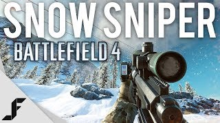 SNOW SNIPER - Battlefield 4