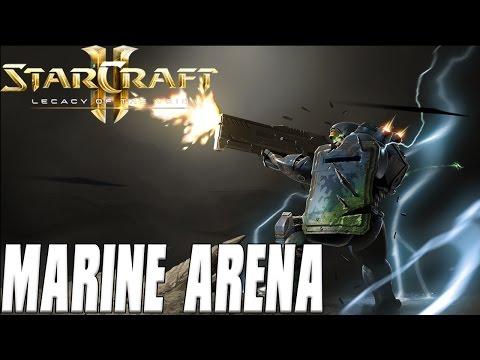 Marine Arena - Starcraft 2 Mod