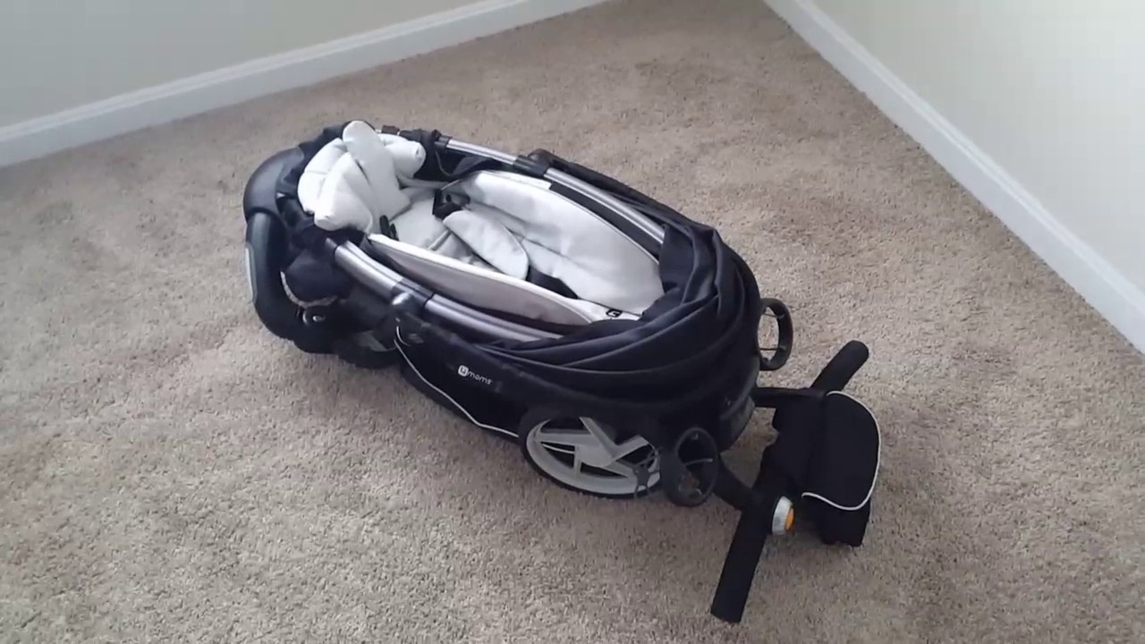 4moms Origami stroller, fully automatic power folding pram - YouTube | 720x1280