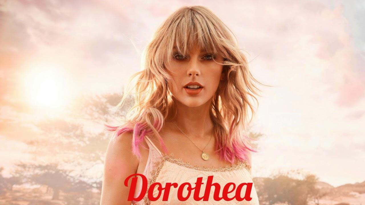 Dorothea chords- Taylor swift Taylor swift song Dorothea Guitar chords