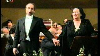 Caballé and Carreras in Prague - Die lustige Witwe (Lippen schweigen)