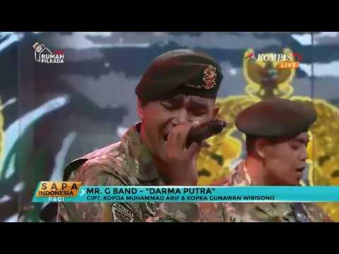 "Mr. G Band Bawakan Lagu ""Darma Putra"""
