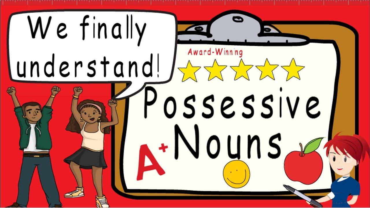 Possessive Nouns   Award Winning Possessive Noun Teaching Video   What are Possessive  Nouns - YouTube [ 720 x 1280 Pixel ]