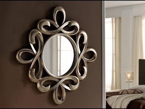 Espejos cl sicos mbar muebles youtube for Espejos con marco metalico