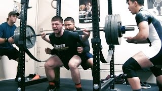 605 lbs deadlift 17 years old squats at untamed strength gym