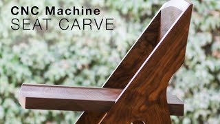 Carving a dining chair seat with a CNC machine - Shaun Boyd Made This