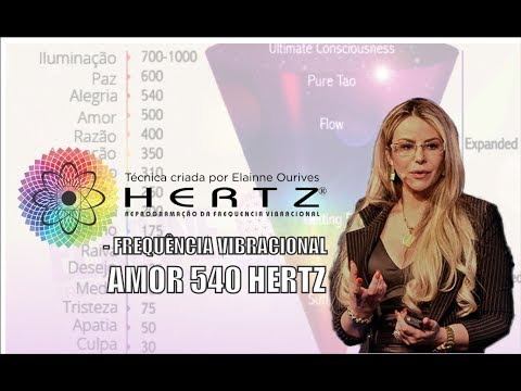 Frequência Vibracional AMOR 540 Hertz   - CRIADO e voz  Elainne Ourives