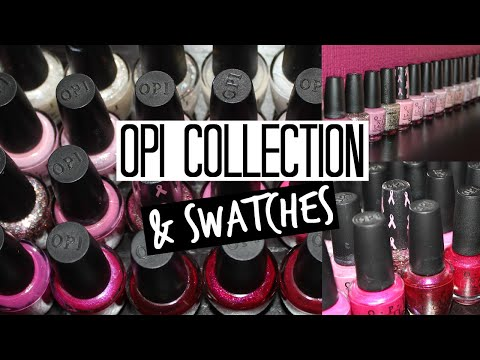 O.P.I Collection & Swatches - Whites & Pinks | PART 1