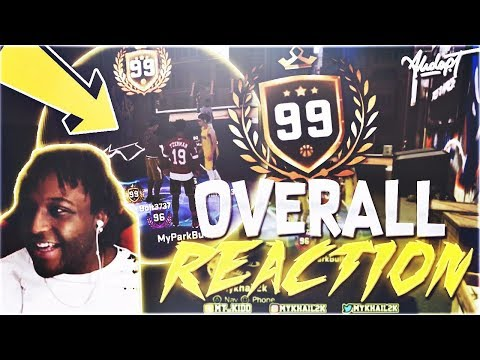 HITTING 99 LIVE ON STREAM!!! YOU WONT BELIEVE THE BADGES HE HAS ON HALL OF FAME😱😱