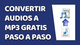 Cómo Convertir Audio a Mp3 Sin Programas 2019