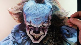 Cómo Dibujar a Pennywise (IT) Realista | Especial Halloween | How to draw Pennywise