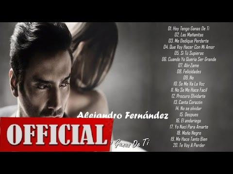 Alejandro Fernández Sus Mejores Éxitos Baladas y Boleros