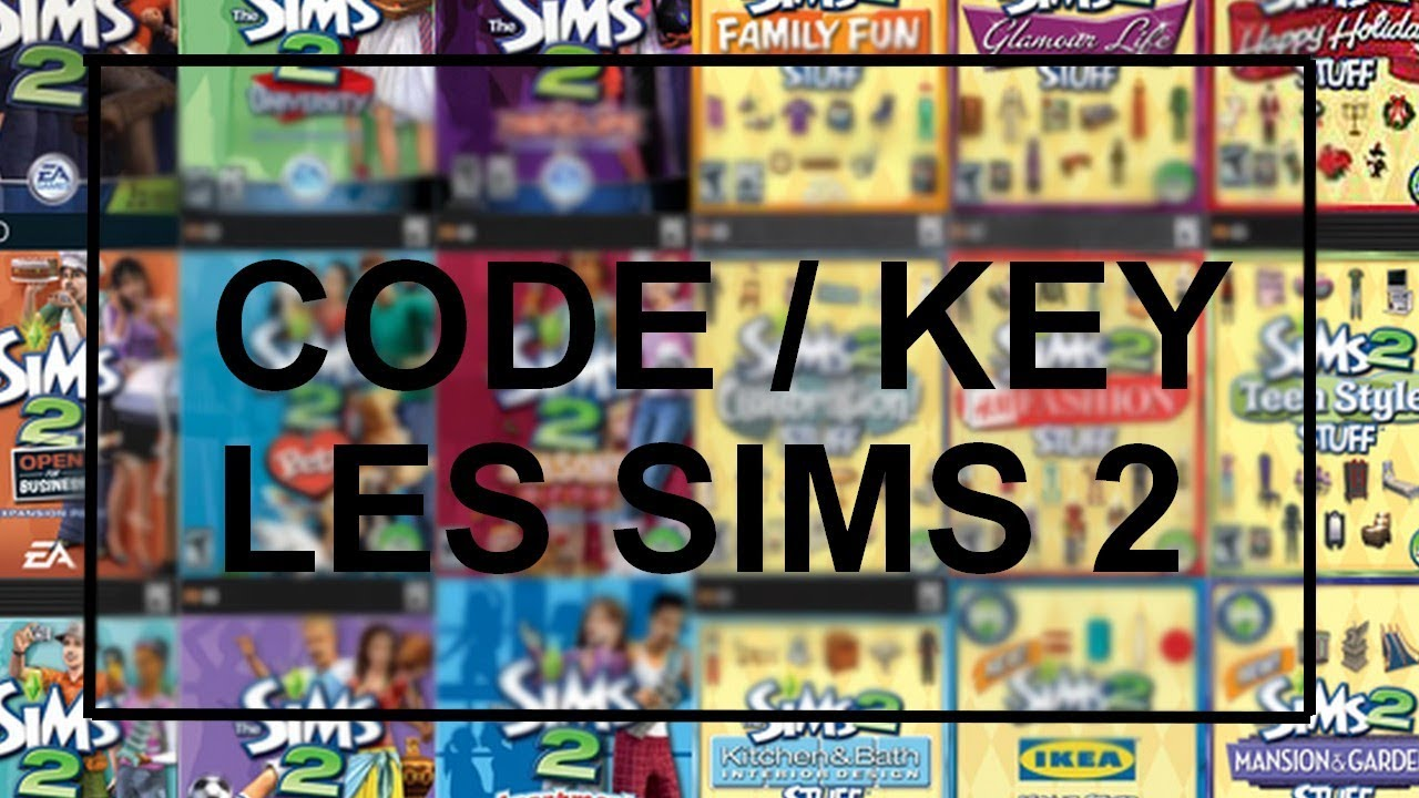 sims 2 ikea serial number