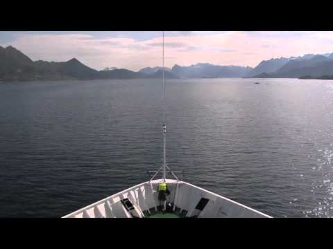 Hurtigruten Cruise 2600km 134 hours - In 5 Minutes