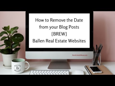 How To Remove Dates From WordPress Blog Posts 149