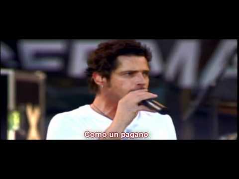 Audioslave - Like a Stone (live) (ESP).wmv