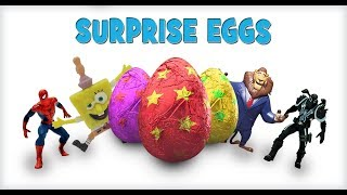 30 Surprise Eggs Toys | Supre Heros and Princes | Mystery Surprise Eggs for Children - 1