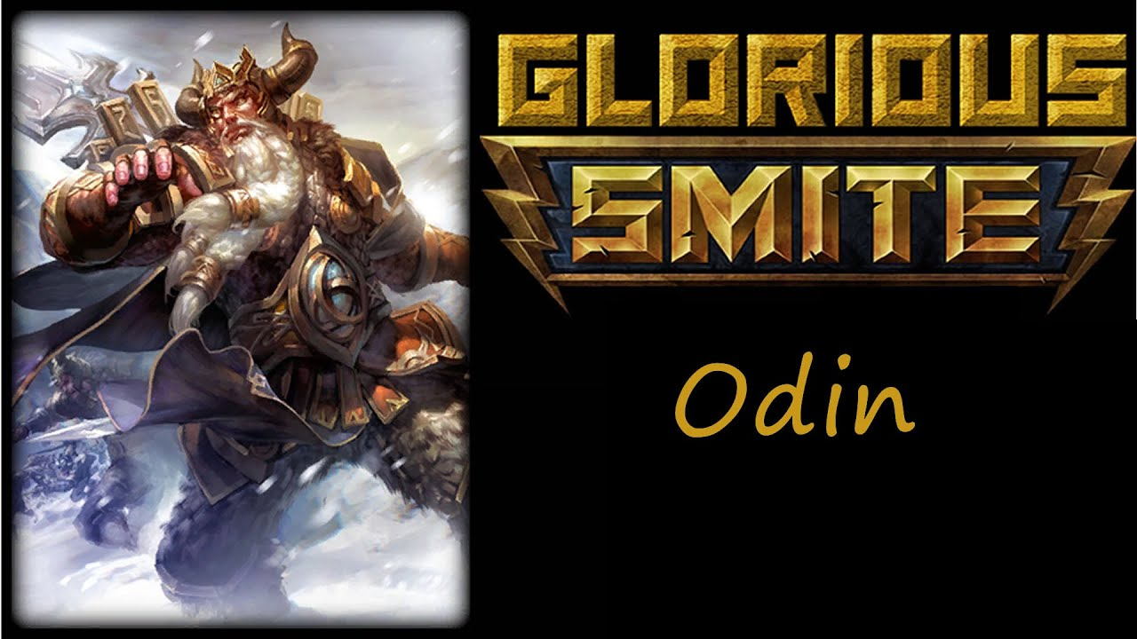 Smite odin jungle odin bruiser warrior build the unkillable allfather youtube
